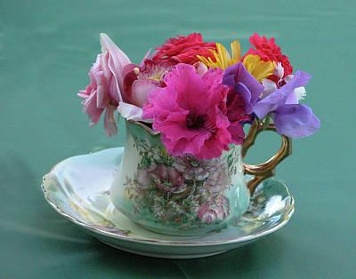 Flower Cup 3 Art Print