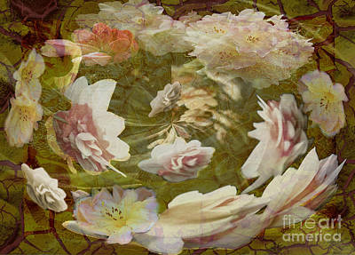 Digital Art - Flower Drift by Nareeta Martin