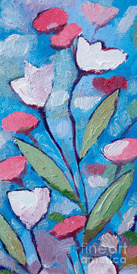 Painting - Flower Expression by Lutz Baar