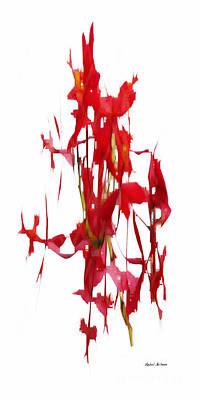 Digital Art - Flower Fantasy 3 by Rafael Salazar