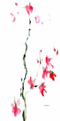 Digital Art - Flower Fantasy 5 by Rafael Salazar