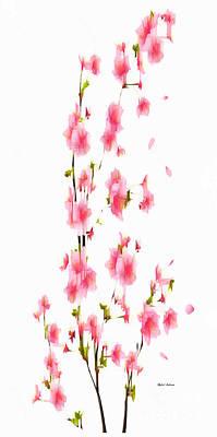 Digital Art - Flower Fantasy 6 by Rafael Salazar