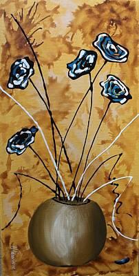 Flower Fantasy Iv Art Print by Mariya Kazarinova