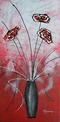Flower Fantasy No.6 Print by Mariya Kazarinova