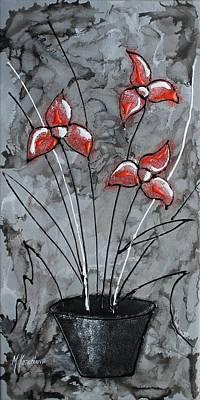 Flower Fantasy No.7 Print by Mariya Kazarinova