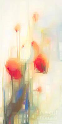 Digital Art - Flower Fantasy by Rafael Salazar