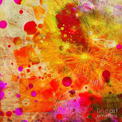Photograph - Flower Fireworks by Judi Bagwell
