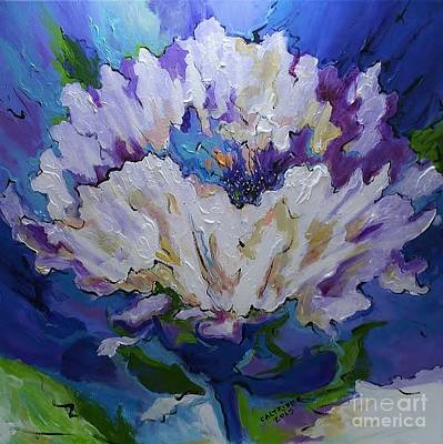 Painting - Flower For A Friend by Alison Caltrider