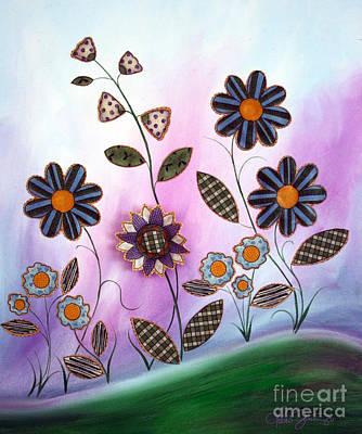 Painting - Flower Fun by Dani Abbott