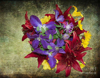 Photograph - Flower - Garden Joy - Luther Fine Art by Luther Fine Art