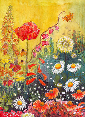 Painting - Flower Garden by Katherine Miller