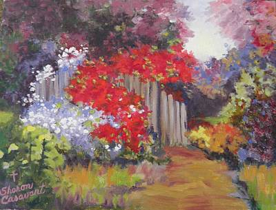 Painting - Flower Garden by Sharon Casavant