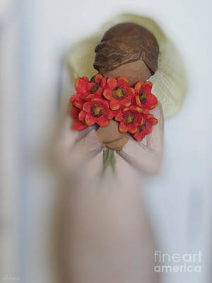 Photograph - Flower Girl by Ella Kaye Dickey
