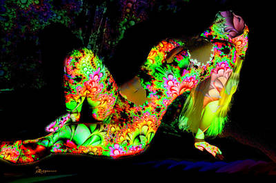 Digital Art - Flower Girl by Ericamaxine Price