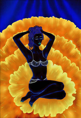 Digital Art - Flower Girl by Kenneth Clarke