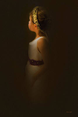 Photograph - Flower Girl by Theresa Tahara
