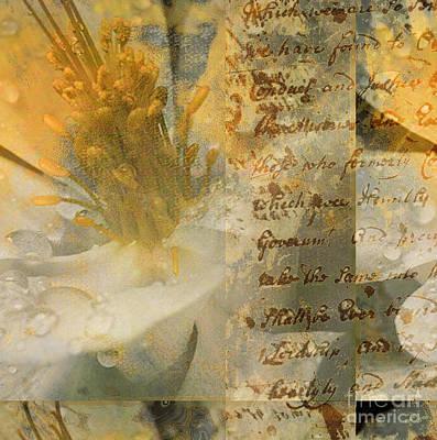 Flower II Art Print by Yanni Theodorou