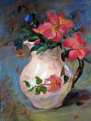 Flower In Vase Art Print