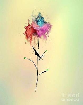 Flower Art Print by John Krakora