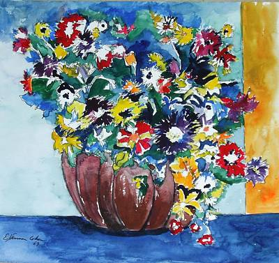 Painting - Flower Jubilee by Esther Newman-Cohen