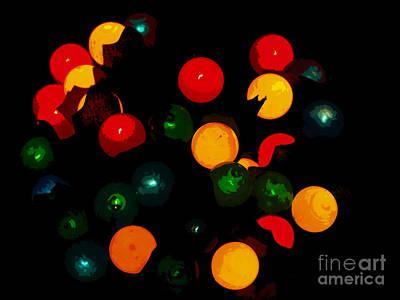 Flower Light Bunch Art Print