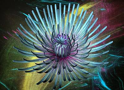 Digital Art - Flower  by Louis Ferreira