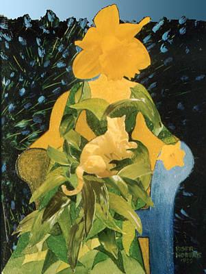 Flower Lovers Art Print by Eve Riser Roberts
