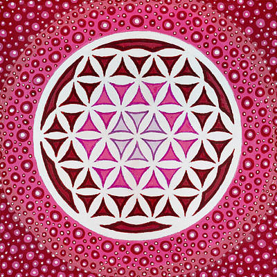 Painting - Flower Of Life by Christopher Sheehan