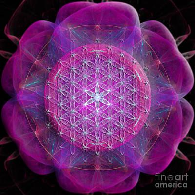 Digital Art - Flower Of Life No One by Alexa Szlavics