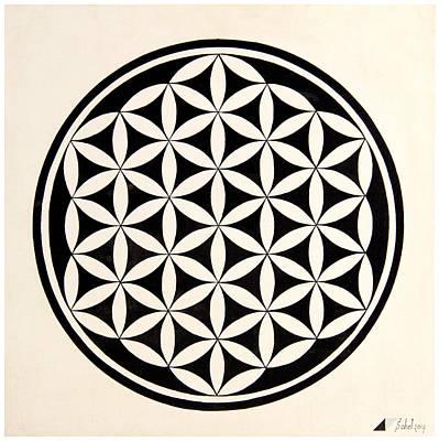 Flower Of Life Original by Sohel Mehboob