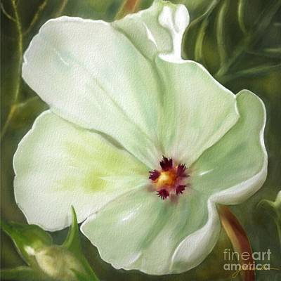 Painting - Flower One  by Joan A Hamilton