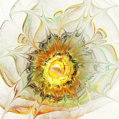 Pattern Digital Art - Flower Palette by Anastasiya Malakhova