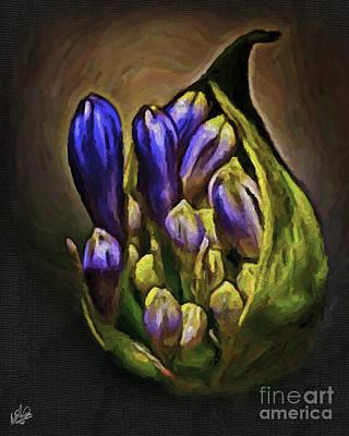 Painting - Flower Pod Abundance by Walt Foegelle