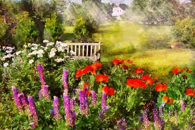 Flower - Poppy - Piece Of Heaven Art Print