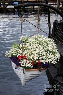 Oslo Photograph - Flower Pot by Sophie Vigneault