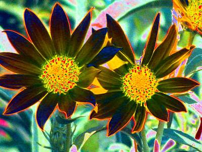 Photograph - Flower Power 813 by Pamela Critchlow
