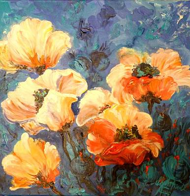 Painting - Flower Power by Christa Friedl