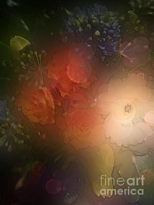 Digital Art - Flower Power by Eva-Maria Di Bella