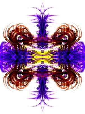 Digital Art - Flower Power by Kruti Shah