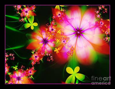 Digital Art - Flower Power by Lena Auxier
