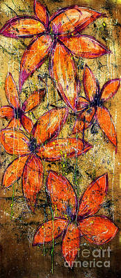 Painting - Flower Power by Nicole Philippi