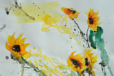Flower Power- Sunflower Art Print