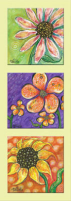 Painting - Flower Power by Tanielle Childers