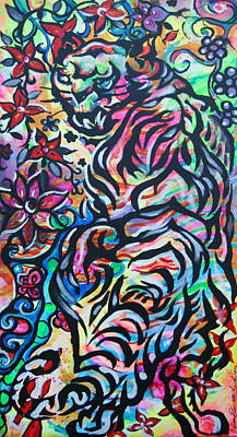Flower Prowler Art Print by Lorinda Fore and Tony Lima