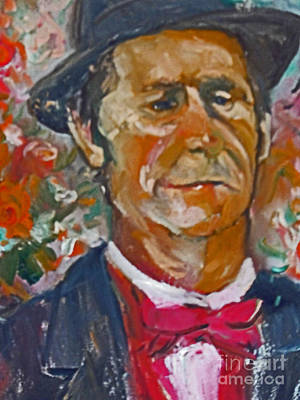 Painting - Flower Seller by Jessamine Barron