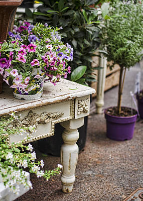 Photograph - Flower Shop Style by Heather Applegate