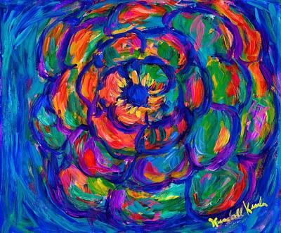 Little Mosters - Flower Spiral by Kendall Kessler