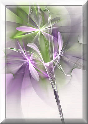 Flower Spirit Art Print by Svetlana Nikolova