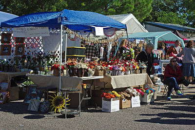 Photograph - Flower Stand by Robyn Stacey
