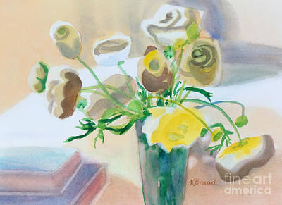 Painting - Flower Still Life          by Kathy Braud